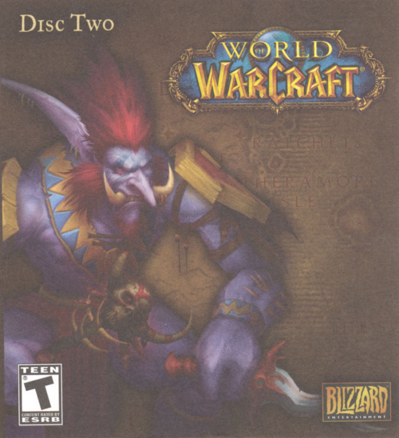 World of WarCraft Macintosh Other CD Sleeve - Front (Disc 2)