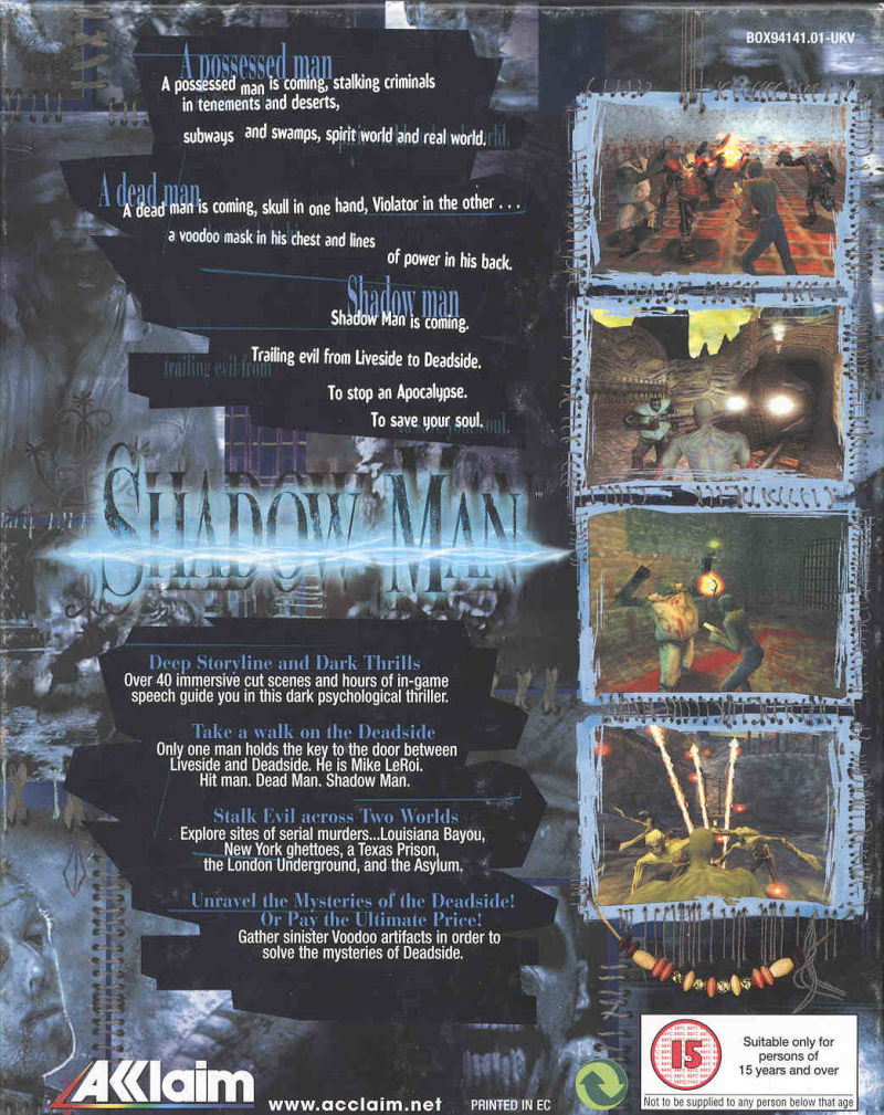 Shadow Man Windows Back Cover