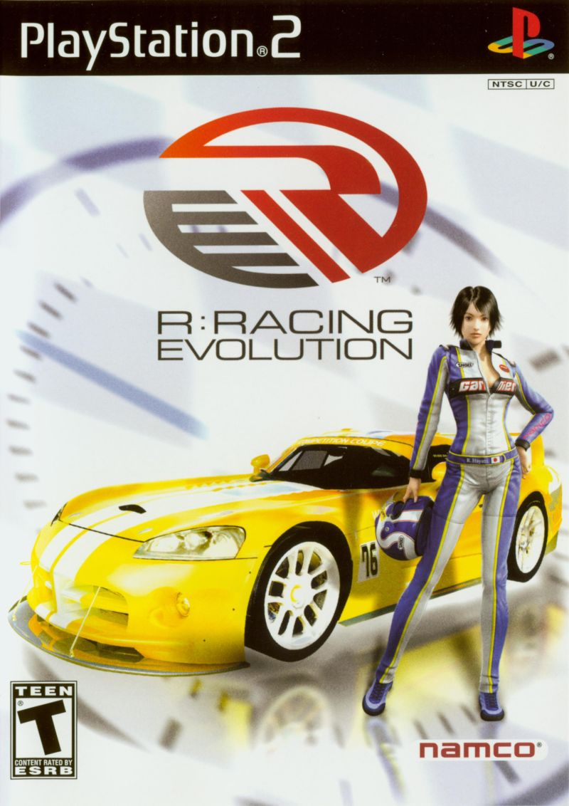 R:Racing Evolution PlayStation 2 Front Cover