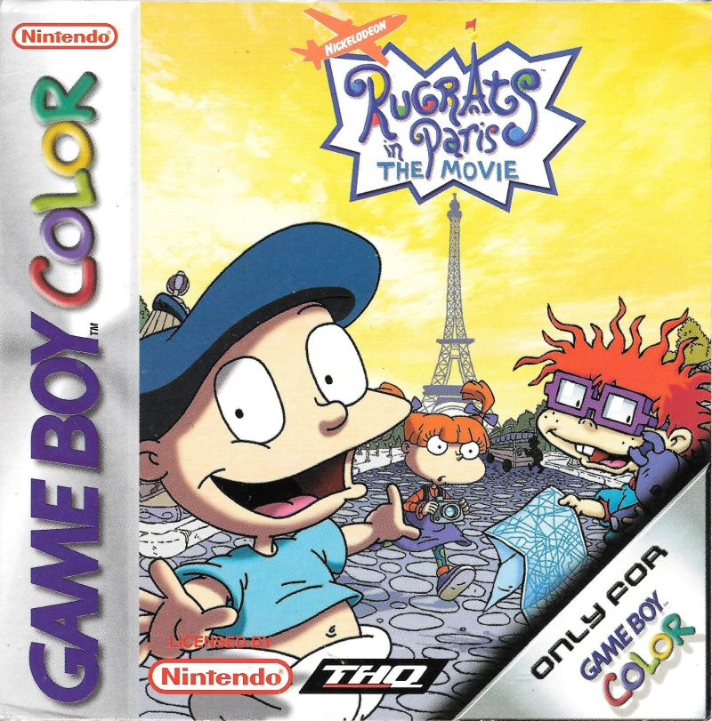 Rugrats in Paris: The Movie for Game Boy Color (2000) - MobyGames