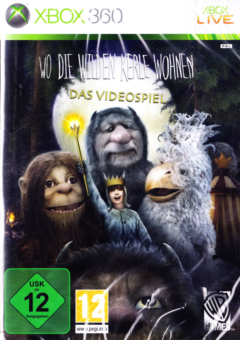 Where the Wild Things Are Xbox 360 Front Cover