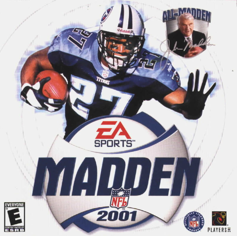 Madden NFL 2001 Windows Other Jewel Case - Front