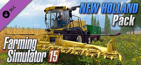 Farming Simulator 15: New Holland Pack Macintosh Front Cover