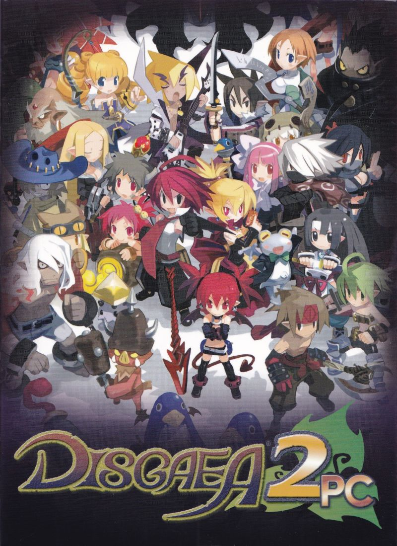 Disgaea 2 PC (Desktop Bundle) Linux Front Cover