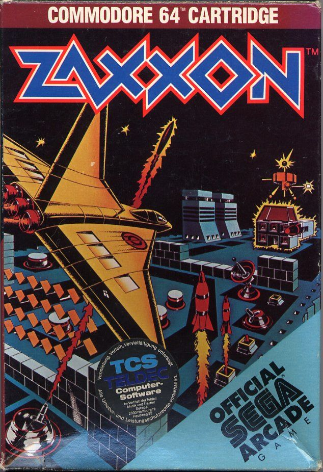64 Best Images About Premier Designs Jewelry On Pinterest: Zaxxon For Commodore 64 (1984)