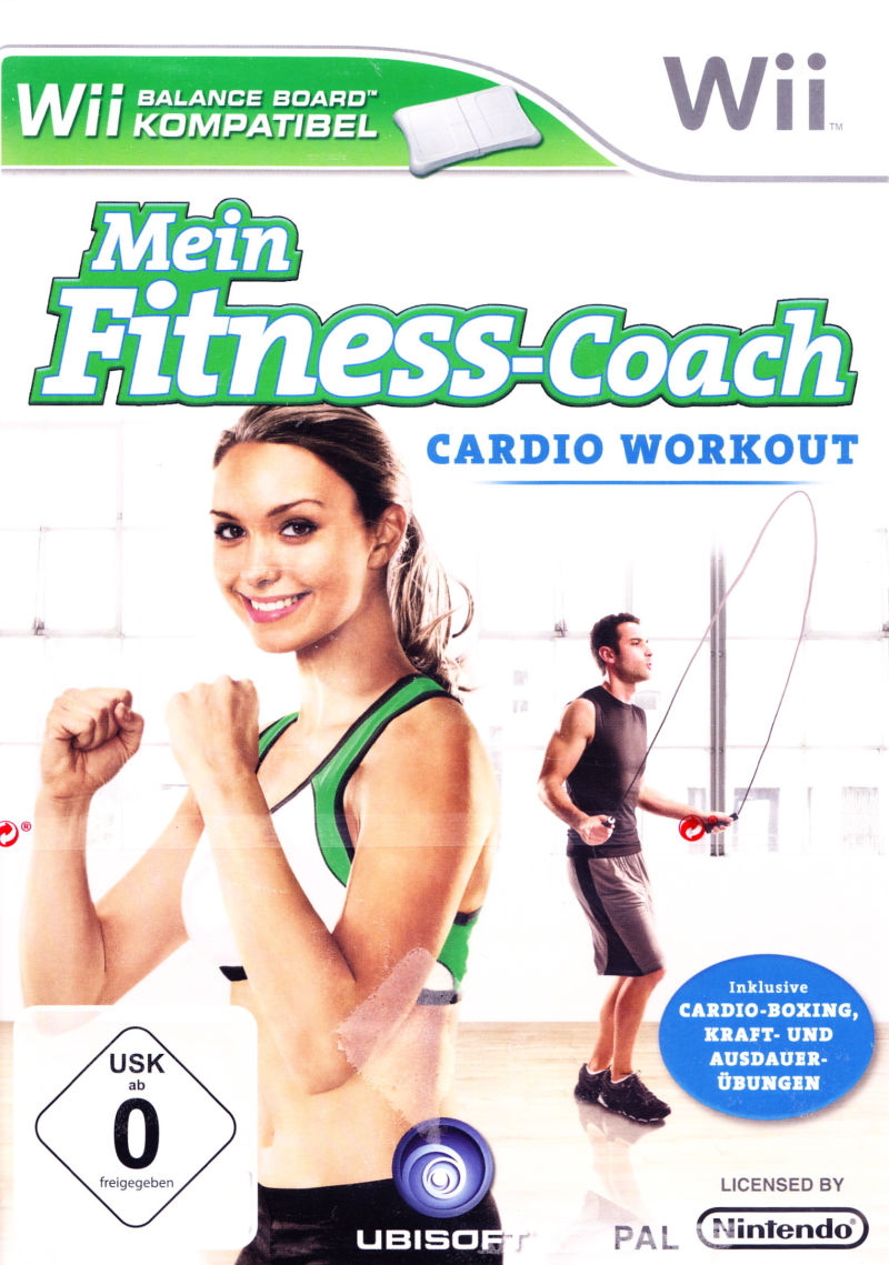 Goldx27s Gym Cardio Workout Wii Front Cover