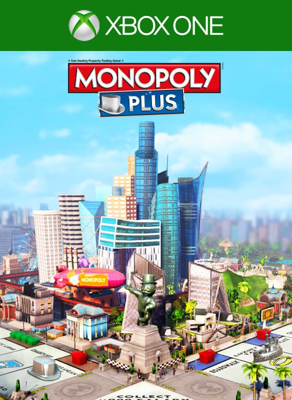 Monopoly Game For Xbox 1 : Monopoly plus playstation box cover art mobygames