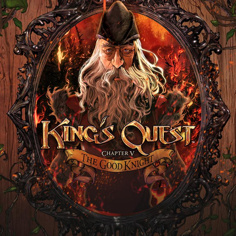 King's Quest: Chapter V - The Good Knight PlayStation 4 Front Cover