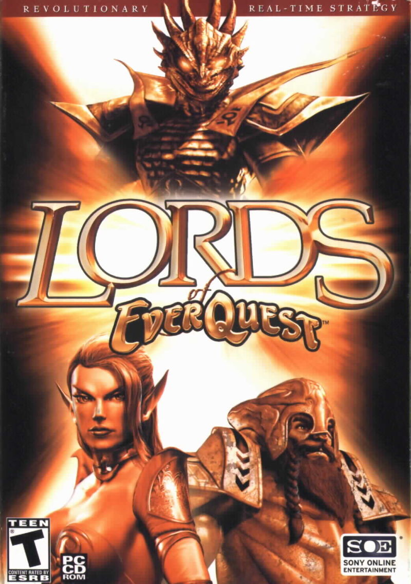 Lords of EverQuest Windows Front Cover
