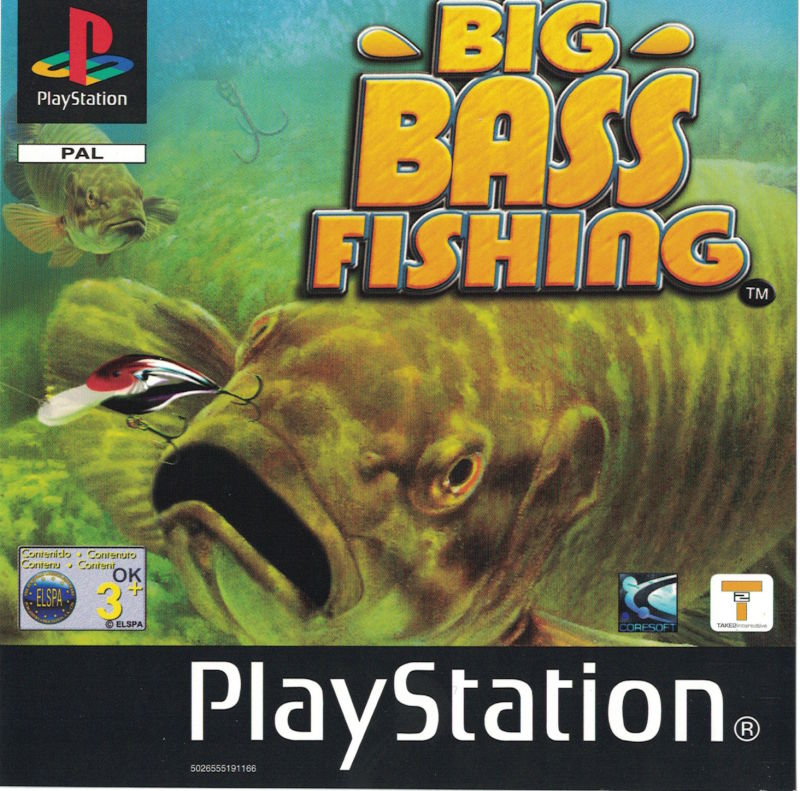 Big bass fishing 2002 playstation box cover art mobygames for Ps3 fishing games