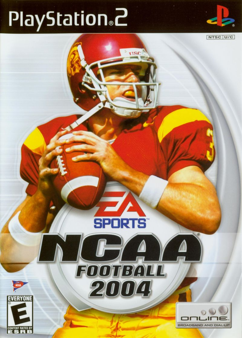 NCAA Football 2004 PlayStation 2 Front Cover