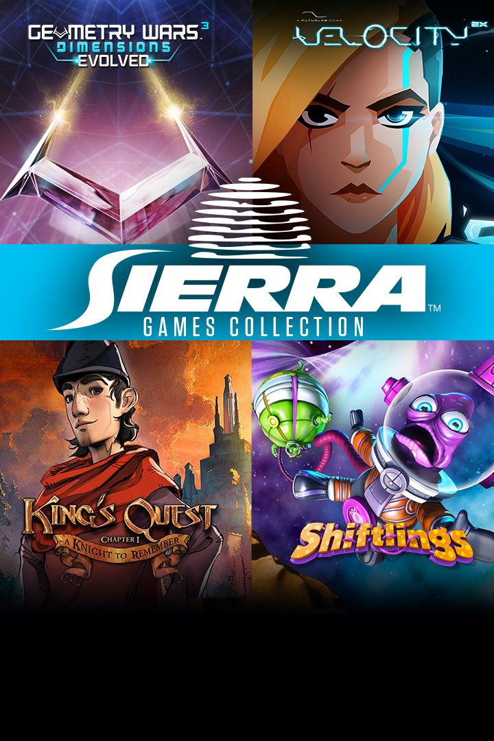 Sierra Games Collection (2015) Xbox One box cover art