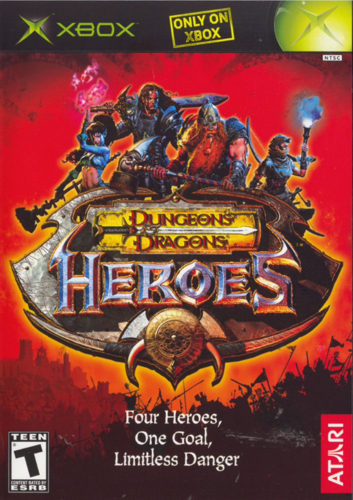 dungeons  u0026 dragons  heroes for xbox  2003