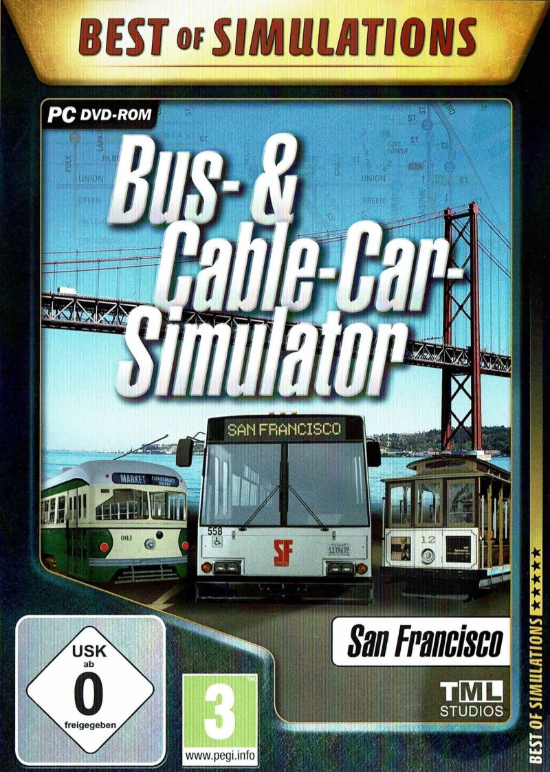 Bus Cable Car Simulator 2011 Windows Box Cover Art Mobygames