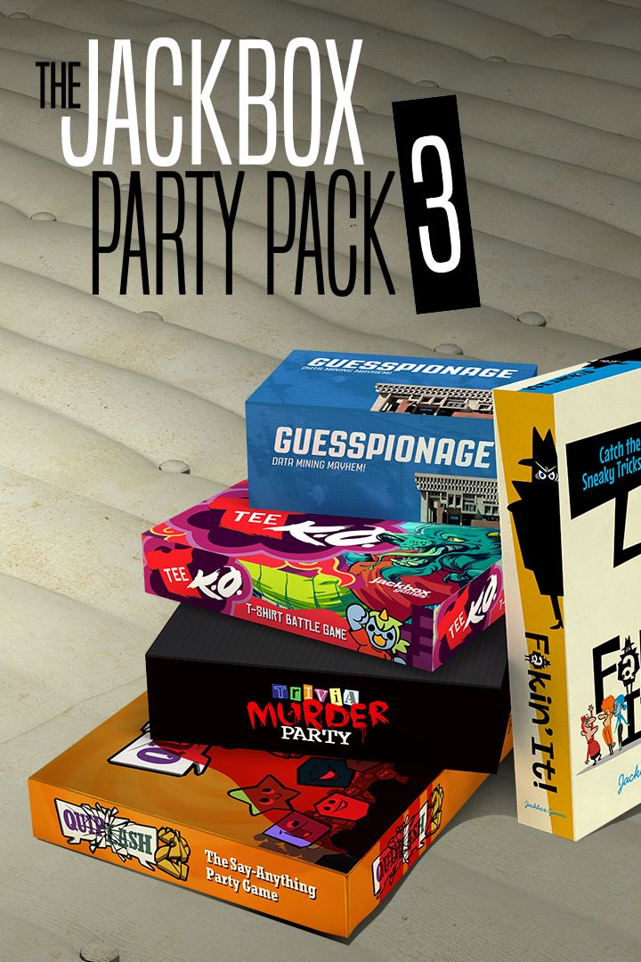 The Jackbox Party Pack 3 for Xbox One (2016) - MobyGames