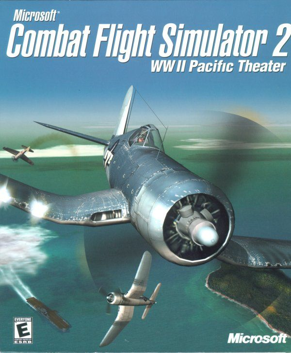 Microsoft Combat Flight Simulator 2: WW II Pacific Theater Windows Front Cover