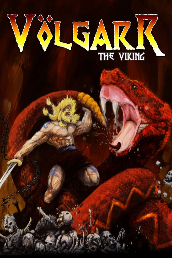 Völgarr the Viking Xbox One Front Cover 2nd version