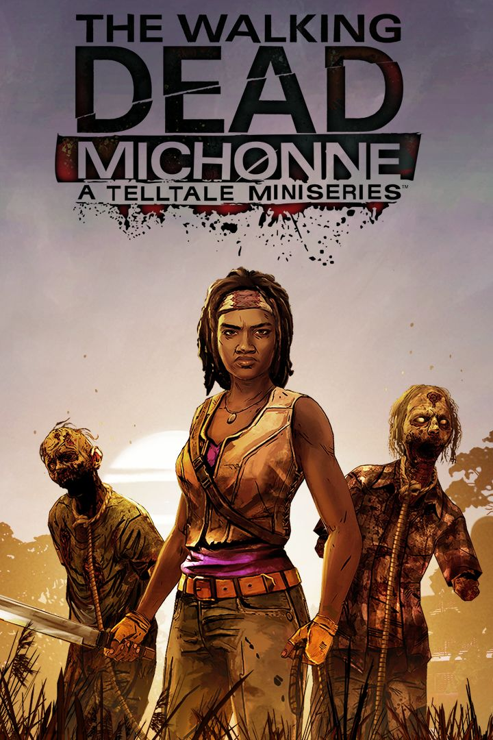 The Walking Dead: Michonne Xbox One Front Cover 2nd version