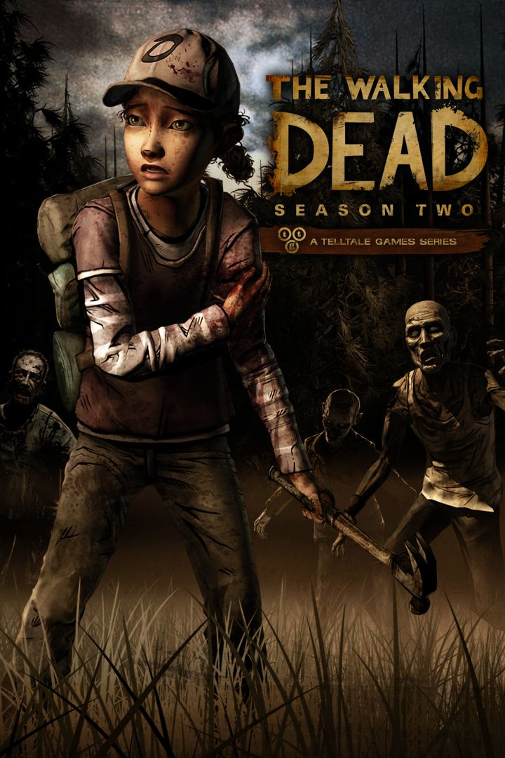 The Walking Dead: Season Two Xbox One Front Cover 2nd version