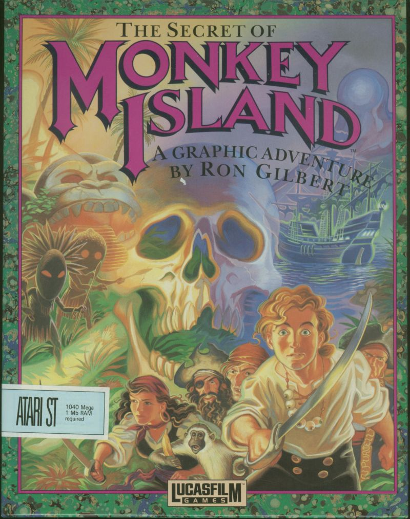 Secret Of Monkey Island Amiga