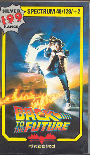 Back to the Future ZX Spectrum Front Cover