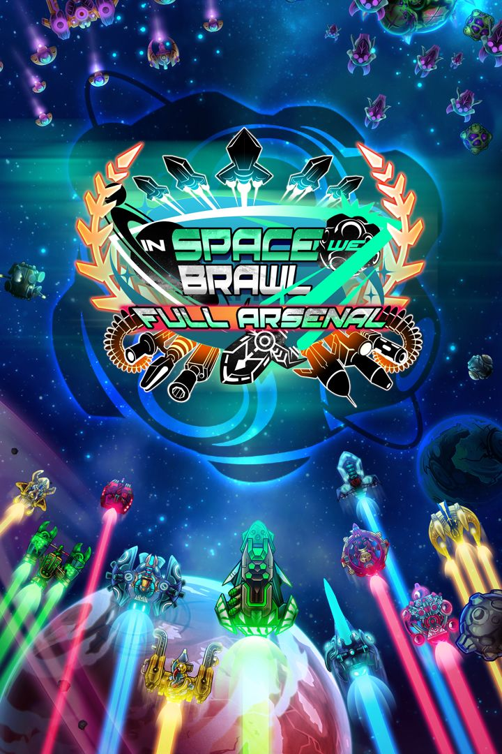 In Space We Brawl Xbox One Front Cover 2nd version
