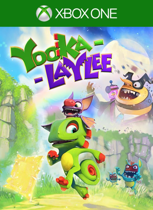 Yooka-Laylee Xbox One Front Cover 1st version