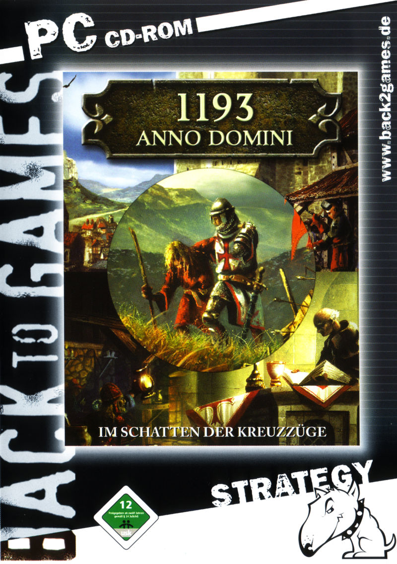 1193 Anno Domini: Merchants and Crusader Windows Front Cover