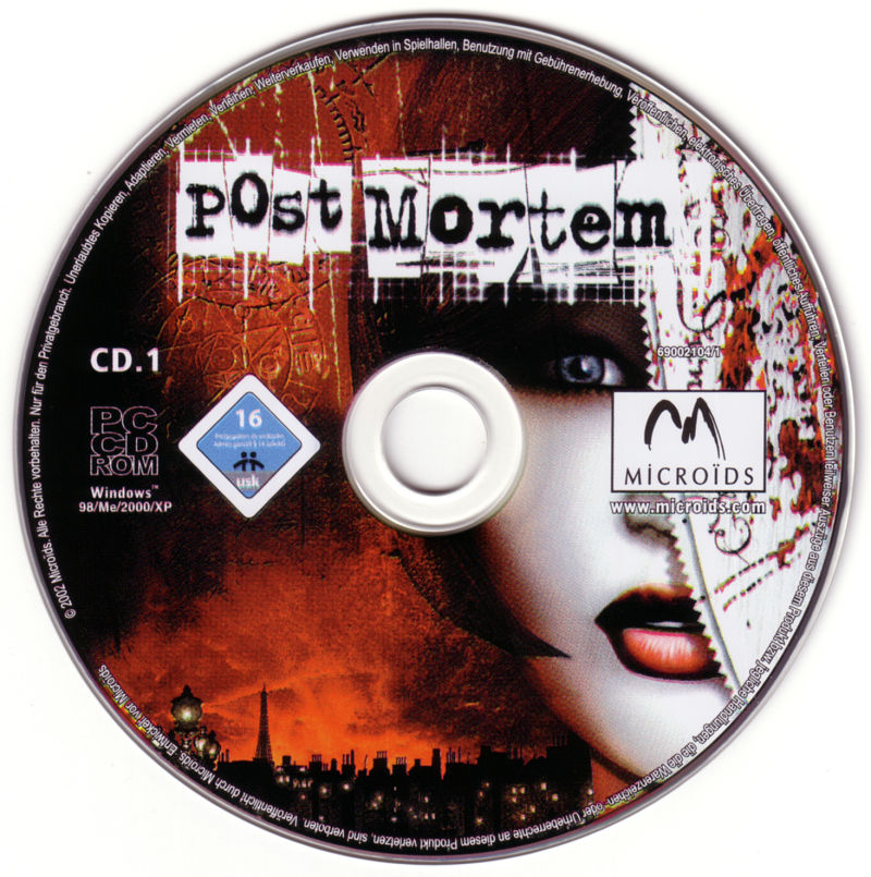 Post Mortem Windows Media Disc 1