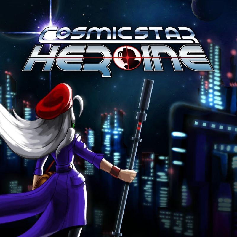 Cosmic Star Heroine (2017) PlayStation 4 box cover art ...