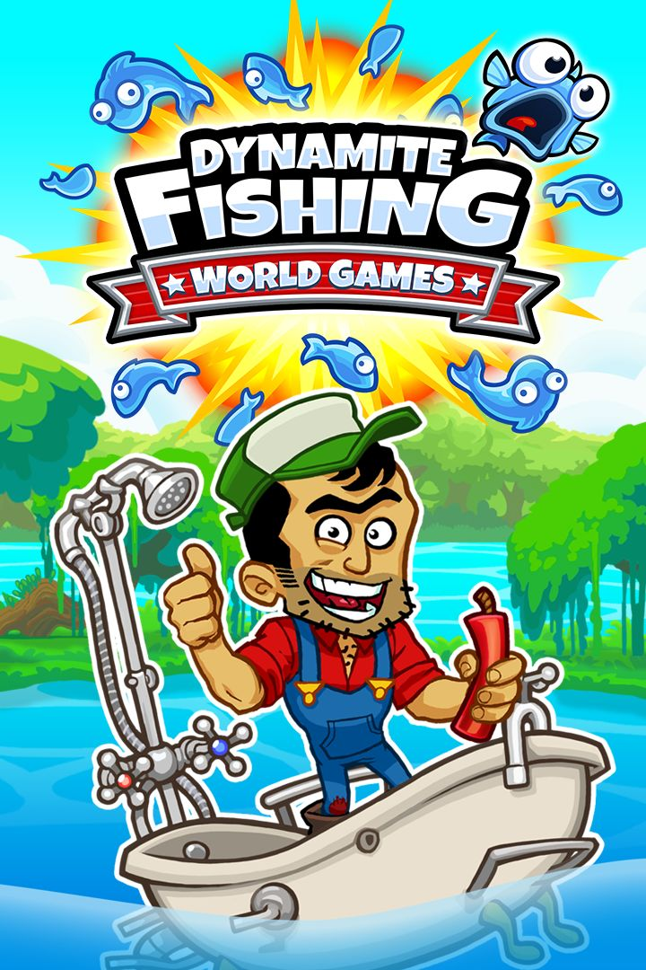 Dynamite fishing world games 2014 android box cover art for Xbox one fishing games