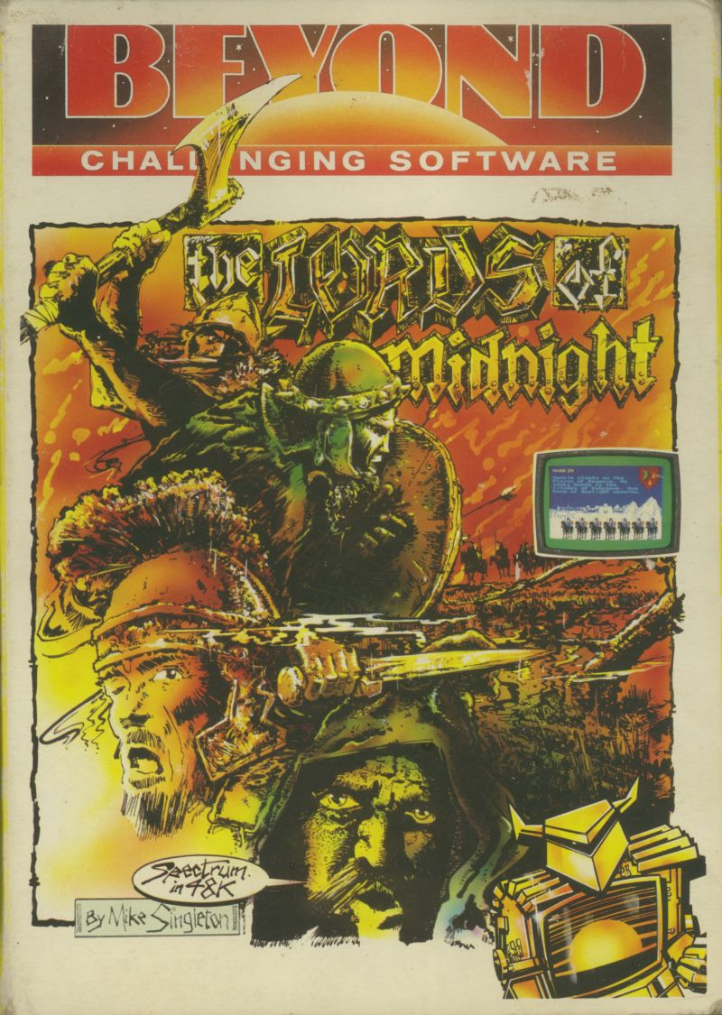 The Lords of Midnight ZX Spectrum Front Cover