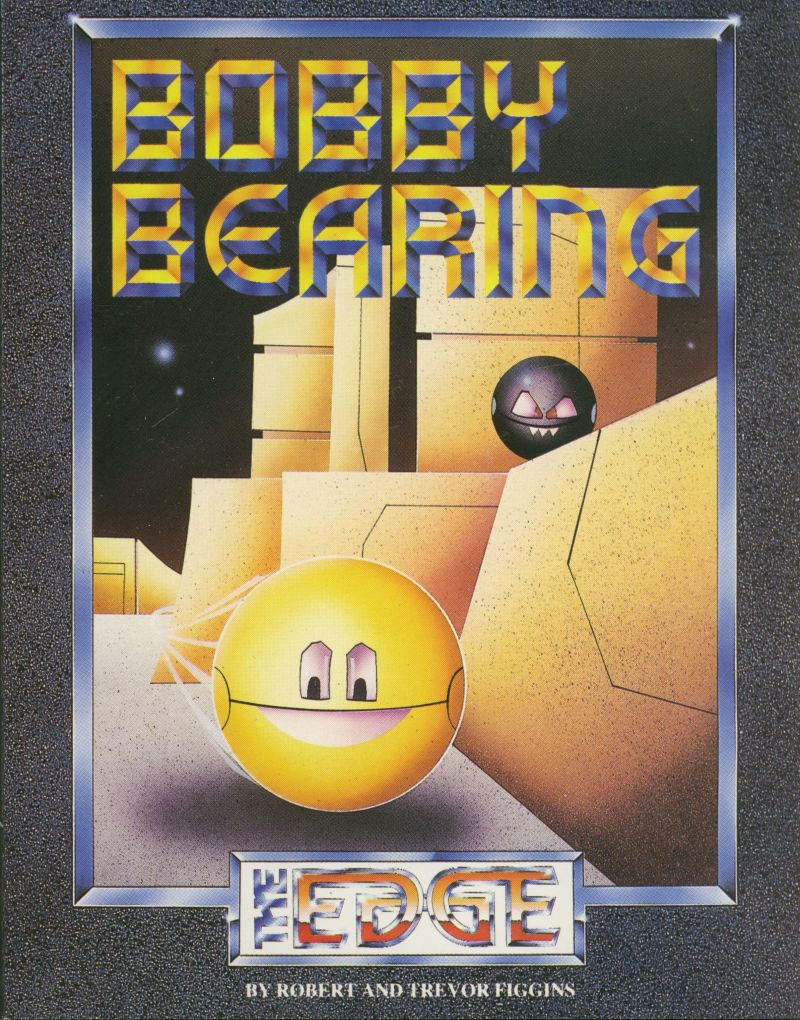 Bobby Bearing ZX Spectrum Front Cover