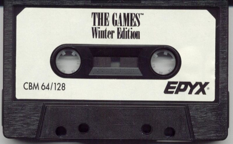 The Games: Winter Edition Commodore 64 Media