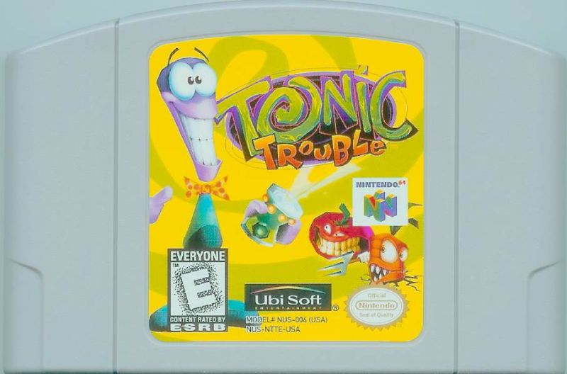Tonic Trouble Nintendo 64 Media