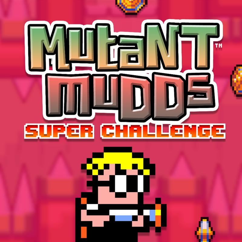 Mutant Mudds: Super Challenge PlayStation 4 Front Cover