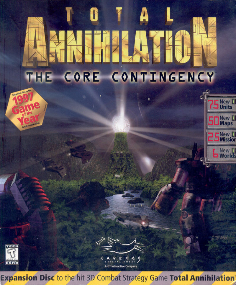 Total Annihilation: The Core Contingency Windows Front Cover