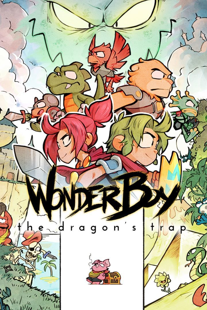 wonder boy the dragon s trap 2017 nintendo switch box cover art