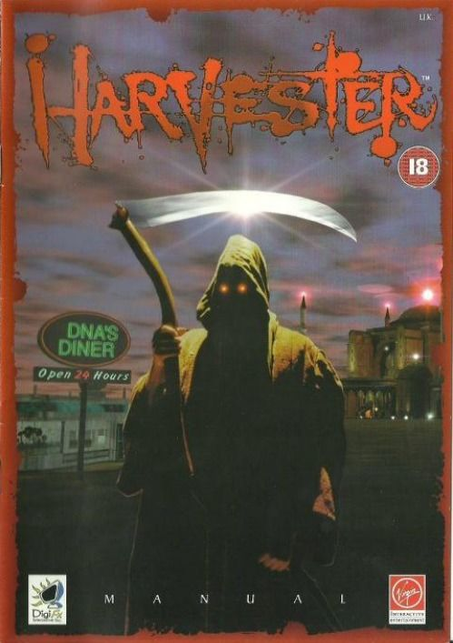 Harvester Macintosh Manual Front (UK)