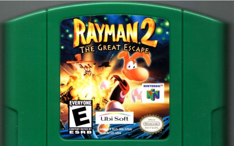 Rayman 2: The Great Escape Nintendo 64 Media