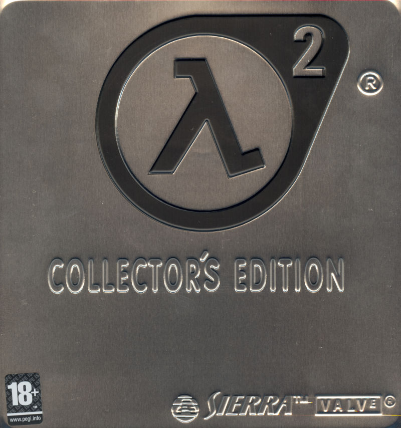 Half-Life 2 (Collector's Edition) Windows Front Cover