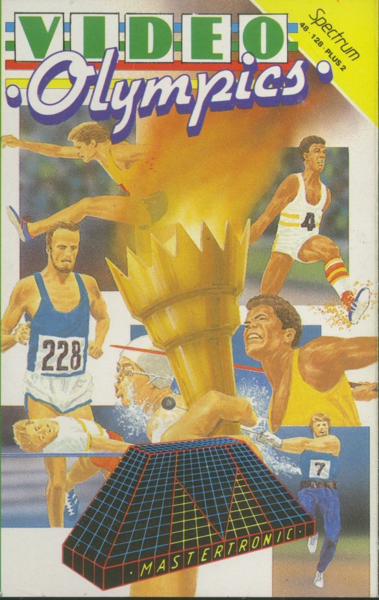 Video Olympics ZX Spectrum Front Cover