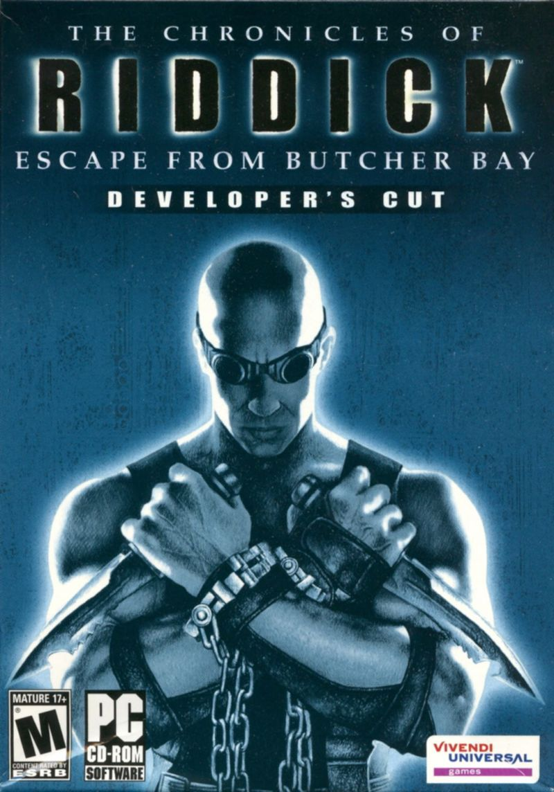 The Chronicles of Riddick: Escape from Butcher Bay Windows Front Cover