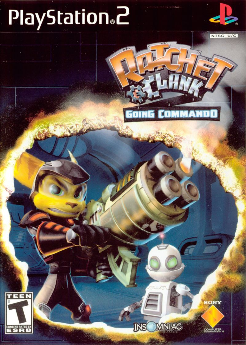 Ratchet Clank Going Commando 2003 Mobygames