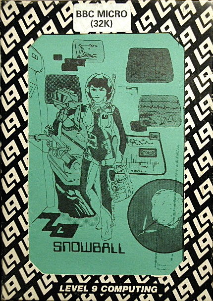 Snowball BBC Micro Front Cover