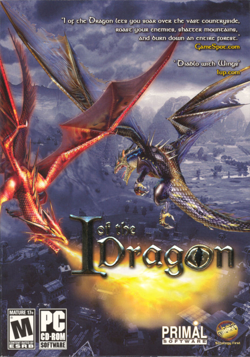 I of the Dragon Windows Front Cover