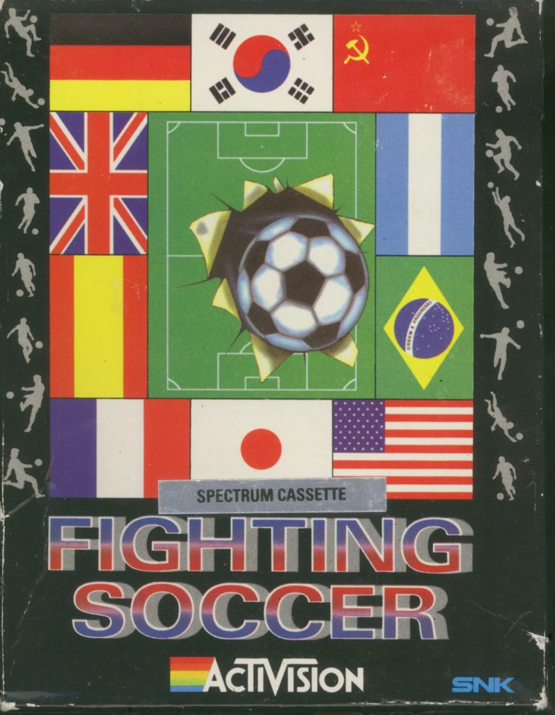 Fighting Soccer ZX Spectrum Front Cover