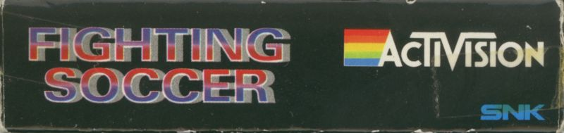 Fighting Soccer ZX Spectrum Spine/Sides
