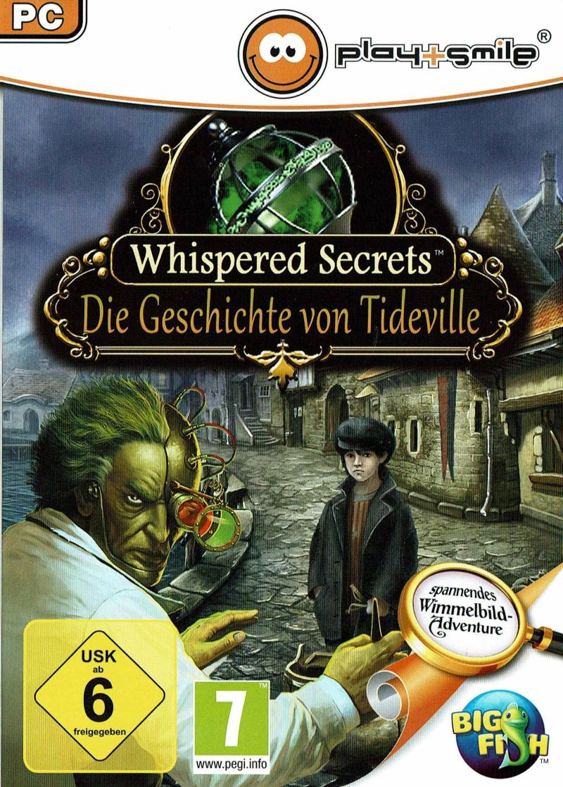Whispered Secrets: The Story of Tideville Windows Front Cover