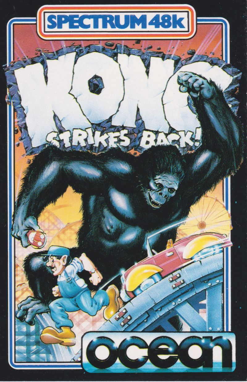 Kong Strikes Back! ZX Spectrum Front Cover